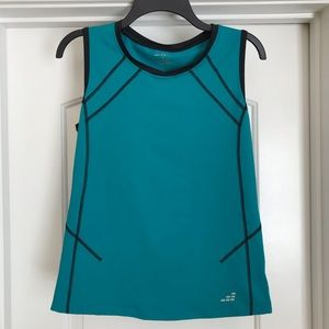 BCG Teal Athletic Tank: Size Large